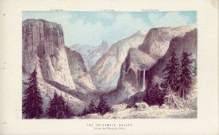 ... The Yosemite Valley, and the mammoth trees and geysers of California ...