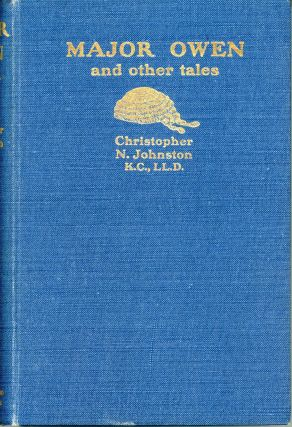 MAJOR OWEN AND OTHER TALES. The Hon. Lord Sands, Christopher Nicholson Johnston