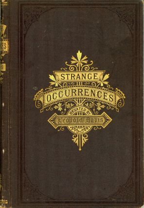 STRANGE OCCURRENCES. Leopold Davis