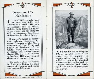Theodore Roosevelt man of action [cover title].