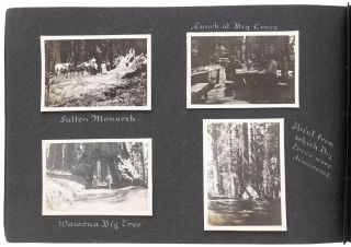 [Yosemite Valley] Vacation trip to Yosemite Valley before 1910 [supplied title].