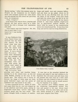 The transformation of Job a tale of the high Sierras by Frederick Vining Fisher.