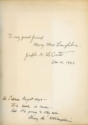 Journal of a camping trip amongst the highest of the California Sierra summer of 1890 [by] Joseph N. LeConte.