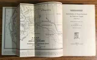 Leonard's narrative. Adventures of Zenas Leonard fur trader and trapper 1831-1836. Reprinted from the rare original of 1839. Edited by W. F. Wagner, M. D. With Maps and Illustrations.