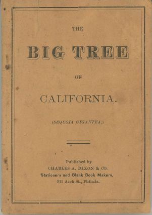 The Big Tree of California. (Sequoia gigantea.) [cover title]. MARTIN VIVIAN