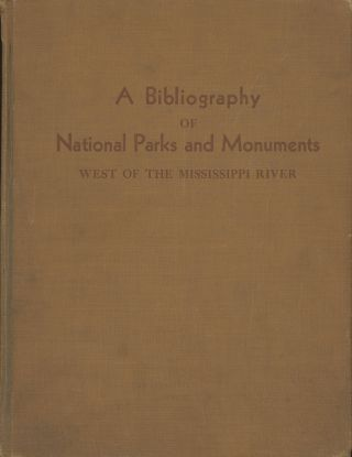Yosemite National Park, a bibliography. Compiled under the supervision of Hazel Hunt Voth and...