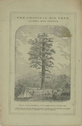 Mammoth trees of California, illustrated by a comparison with other noted trees, ancient and modern. Compiled by J. Otis Williams, of the Boston Public Library. With a hand-book in brief, for a trip to the Calaveras Groves, and Yo-Semite Valley. [three-line quote from L. Agassiz].