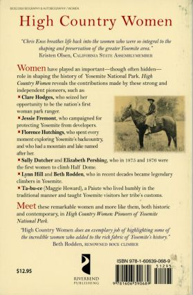 High country women: pioneers of Yosemite National Park.