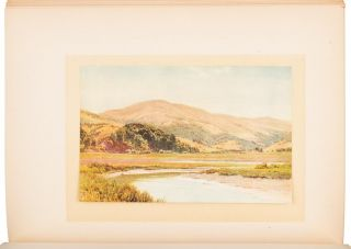 CALIFORNIA THE LAND OF THE SUN painted by Sutton Palmer described by Mary Austin.