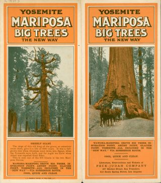 Yosemite Mariposa Big Trees the new way ... Literature, reservations and tickets of Peck-Judah...