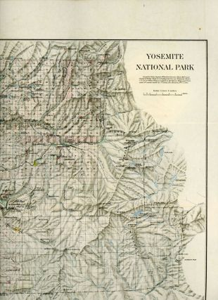 Yosemite National Park[.] Compiled from Captain Wheeler's Survey (Sheet 56D and Yosemite Valley...