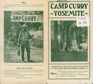 Camp Curry Yosemite ... Offices 410 South Broadway and corner Second and Spring Streets, Los...