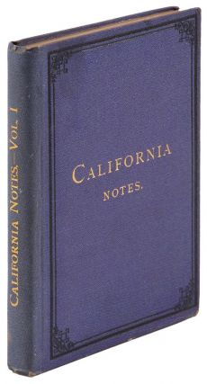 California notes. By Charles B. Turrill. CHARLES BEEBE TURRILL