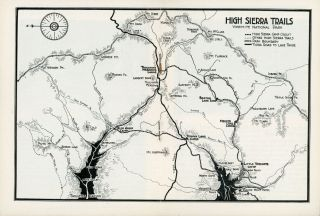Yosemite High Sierra Camps and saddle trips [cover title].