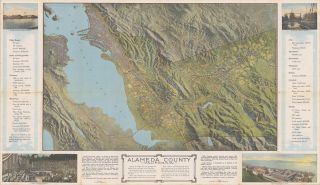 ALAMEDA COUNTY CALIFORNIA ... [cover and caption title].