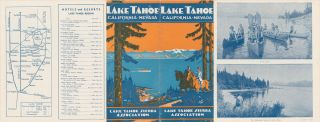 LAKE TAHOE CALIFORNIA-NEVADA.