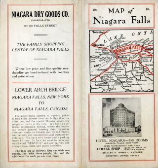 CITY OF NIAGARA FALLS, N. Y. PUBLISHED BY GLEN HARRIS[,] NIAGARA FALLS, N. Y. Niagara Falls, Glen...