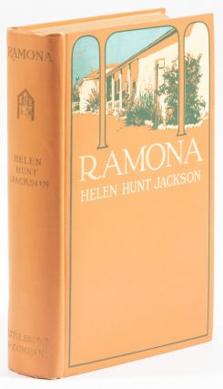RAMONA A STORY ... With an introduction by A. C. Vroman[.] With illustrations from original photographs by A. C. Vroman and decorative headings from drawings by Henry Sandham.