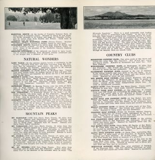 """Central California: pleasure land for the tourist[.] Facts for travelers[.] Bulletin no. 19[.] """"For the Stranger Within Our Gates"""" [cover title]."""