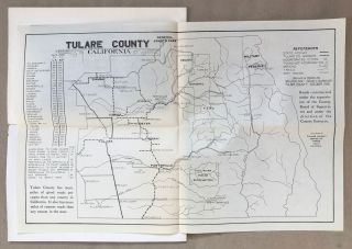 Tulare County's wonderland highways and by-ways by A. E. Miot.