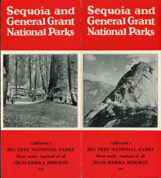 Sequoia and General Grant National Parks[.] California's big tree national parks[.] Most easily...