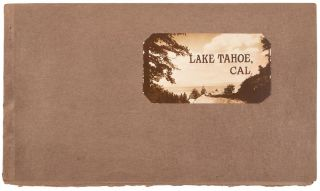 Lake Tahoe, Cal. [cover title]. California, Lake Tahoe, PUTNAM, PHOTOS VALENTINE