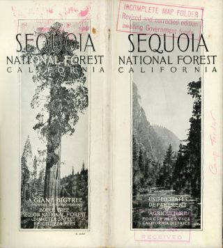 Sequoia National Forest California ... United States Department of Agriculture Forest Service...