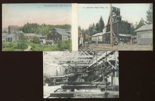 NEVADA COUNTY CALIFORNIA[.] THE MOST PROSPEROUS MINING COUNTY OF THE UNITED STATES. WHERE GOOD MINES ARE FOUND IN A COUNTRY WITH A PERFECT CLIMATE AND ALL COMFORTS OF CIVILIZATION. COMPLIMENTS OF NEVADA COUNTY PROMOTION COMMITTEE.