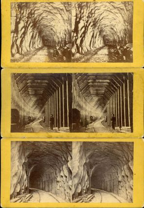 COLLECTION OF 27 STEREOSCOPIC PHOTOGRAPHS OF THE CENTRAL PACIFIC RAILROAD AND ADJACENT AREAS TAKEN FOR THE C. P. R. R. BY ALFRED A. HART FROM 1864 TO 1869.