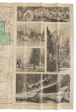Yosemite Wawona route via Mariposa big trees, Inspiration Point and Glacier Point ... Oiled roads[.] Yosemite Stage & Turnpike Company ... [cover title].