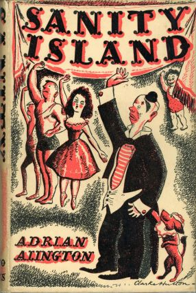 SANITY ISLAND: A NOVEL. Adrian Alington