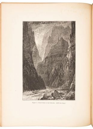 EXPLORATION OF THE COLORADO RIVER OF THE WEST AND ITS TRIBUTARIES. EXPLORED IN 1869, 1870, 1871, AND 1872, UNDER THE DIRECTION OF THE SECRETARY OF THE SMITHSONIAN INSTITUTION.