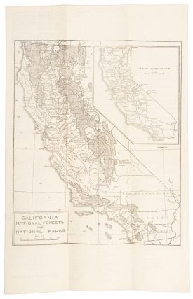 Automobile Guide to National Forests[,] National Parks and Public Camping Grounds in California and Western Nevada ... [cover title].