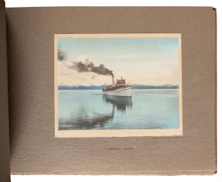 BEAUTIFUL LAKE TAHOE A SELECTION OF HAND COLORED PRINTS FROM THE STUDIO OF HAROLD A. PARKER TAHOE TAVERN LAKE TAHOE AND PASADENA CALIFORNIA [title from inside front cover].