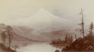 CALIFORNIA AND OREGON: YOSEMITE VALLEY, MONTEREY, NORTHERN CALIFORNIA, PORTLAND, OREGON, COLUMBIA RIVER. 29 albumen photographs, circa late 1880s -- early 1890s, all probably after 1887.