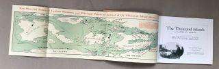 THE THOUSAND ISLANDS AND THE RIVER ST. LAWRENCE: VIEWS REPRESENTATIVE OF THE WONDERFUL BEAUTY AND PICTURESQUE SCENERY TO BE FOUND IN THE THOUSAND ISLAND DISTRICT ...
