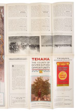 TEHAMA THE COUNTY OF DIVERSIFIED OPPORTUNITY ... [cover title].