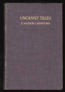 UNCANNY TALES. Crawford, Marion