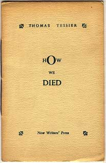 HOW WE DIED. Thomas Tessier